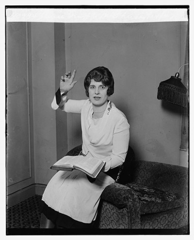 Aimee Semple McPherson, February 14, 1927