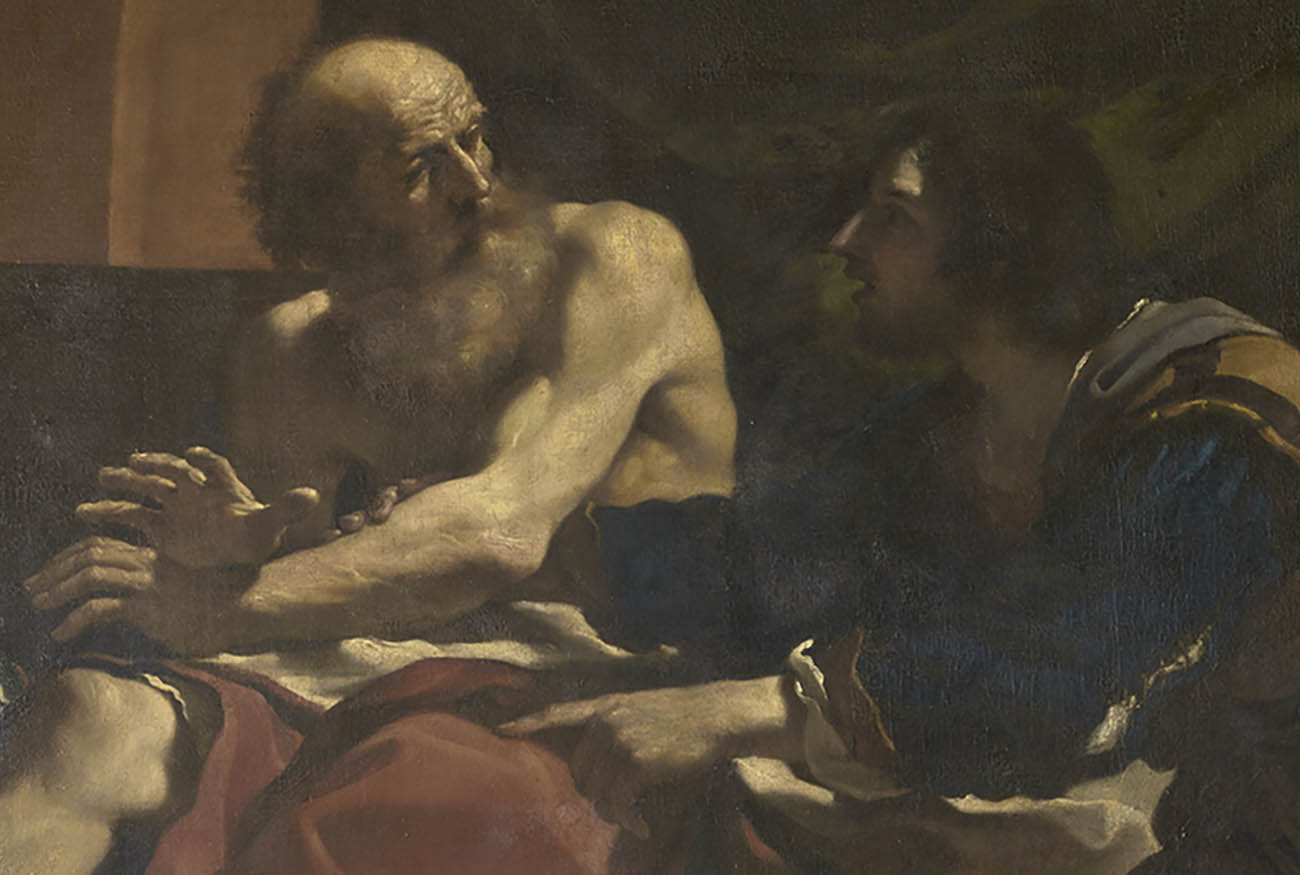 Detail of Jacob and Joseph.