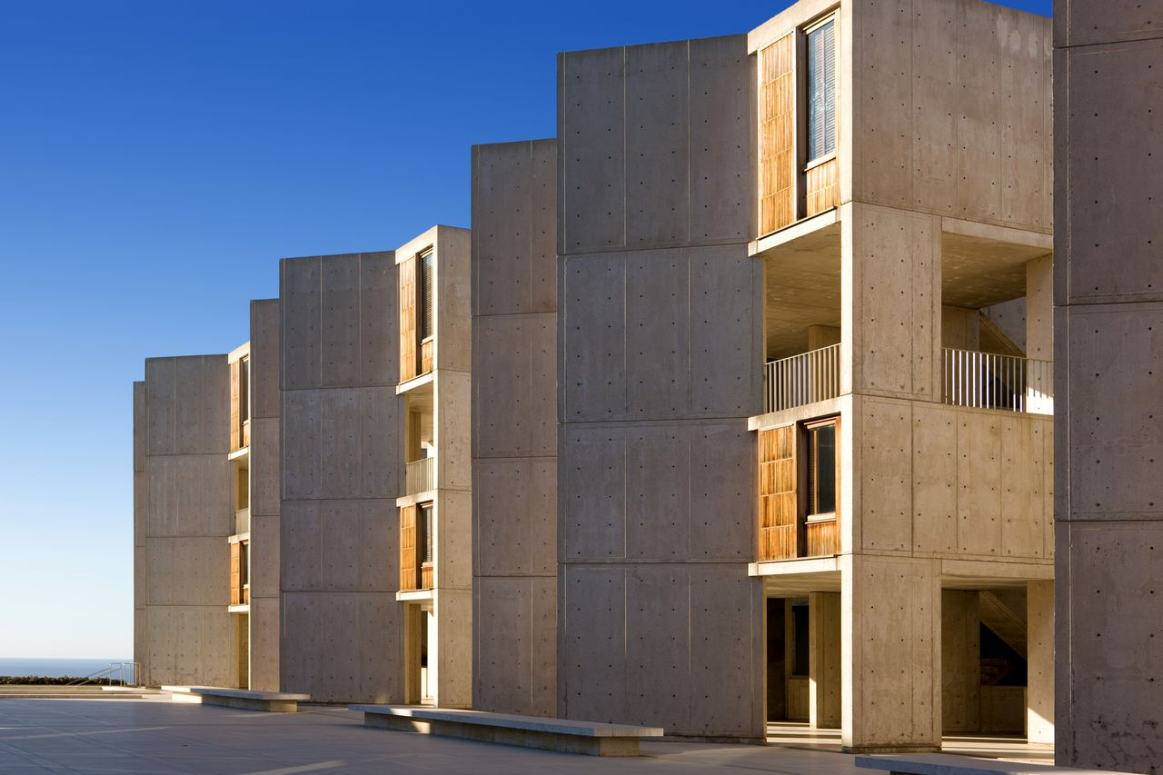 View of the Salk Institute