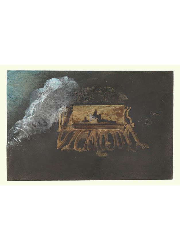 <em/>Calling Card, 1855, Victor Hugo