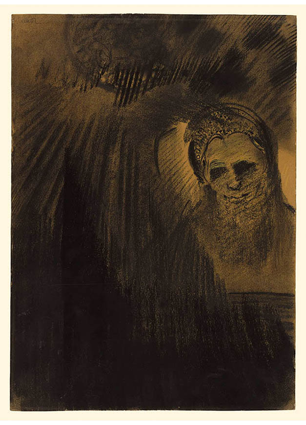 <em/>Apparition, about 1880–1890, Odilon Redon