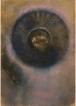 <em/>Head within an Aureole, about 1894–1895, Odilon Redon