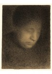 <em/>Madame Seurat, the Artist's Mother (Madame Seurat, mère), about 1882–1883, Georges Seurat