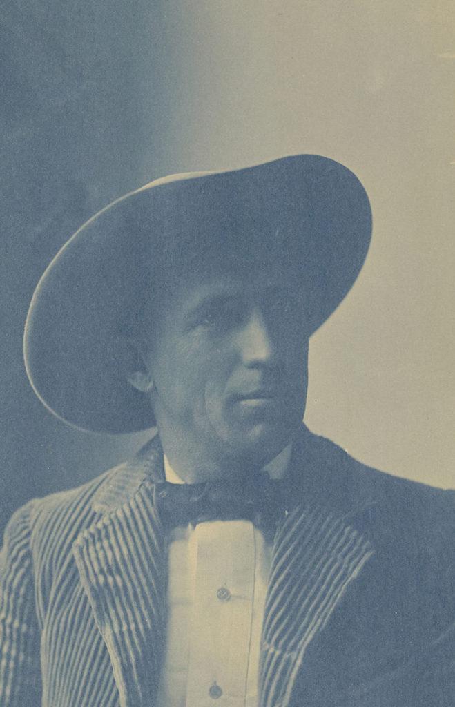 [Portrait of Charles Fletcher Lummis], 1897, Aemilian Scholl and Charles F. Lummis. The J. Paul Getty Museum.