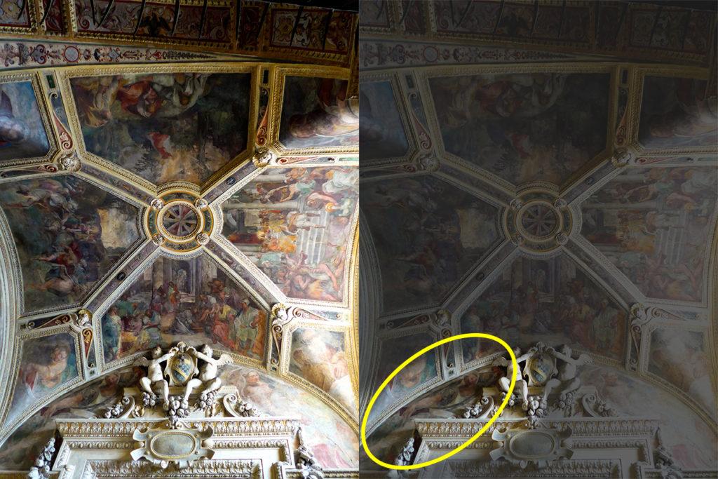 Chiesa S. Maria della Consolazione. Cappella Mattei. Storie della Passione. Photo ©Rita Restifo. All rights reserved.