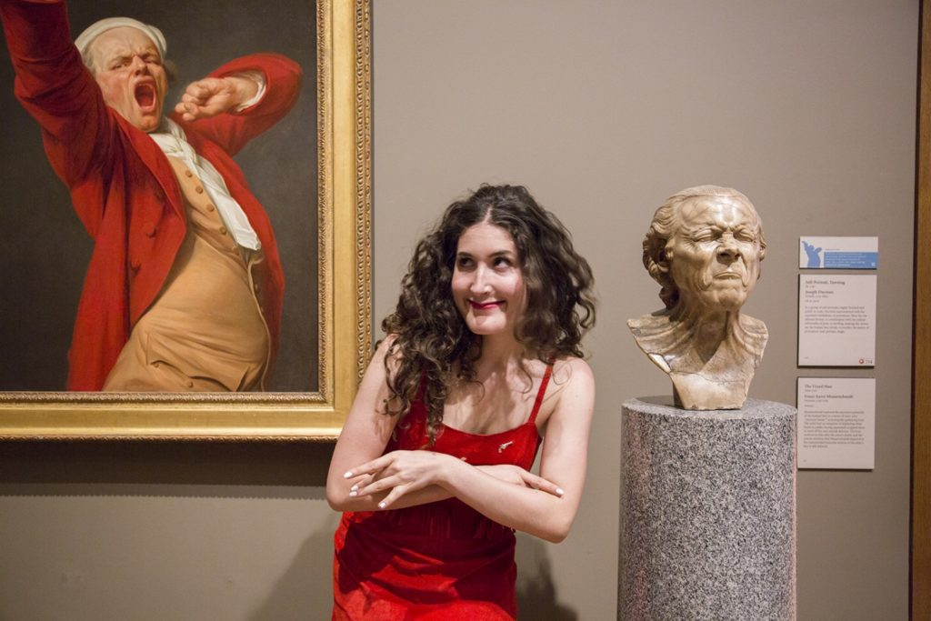 Kate Berlant at the Getty Museum