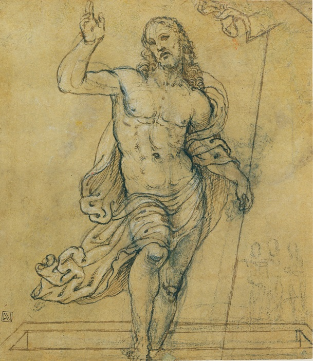 Christ Carrying the Cross, Giovanni Antonio Bazzi (Sodoma), about 1535. The J. Paul Getty Museum, 86.GA.2