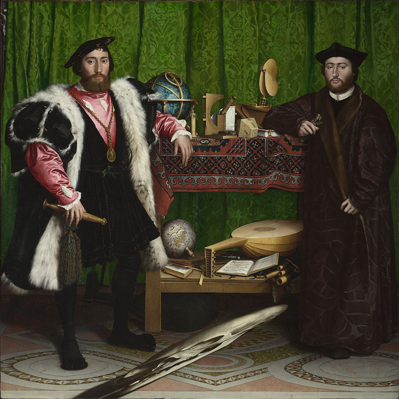 The Ambassadors / Hans Holbein