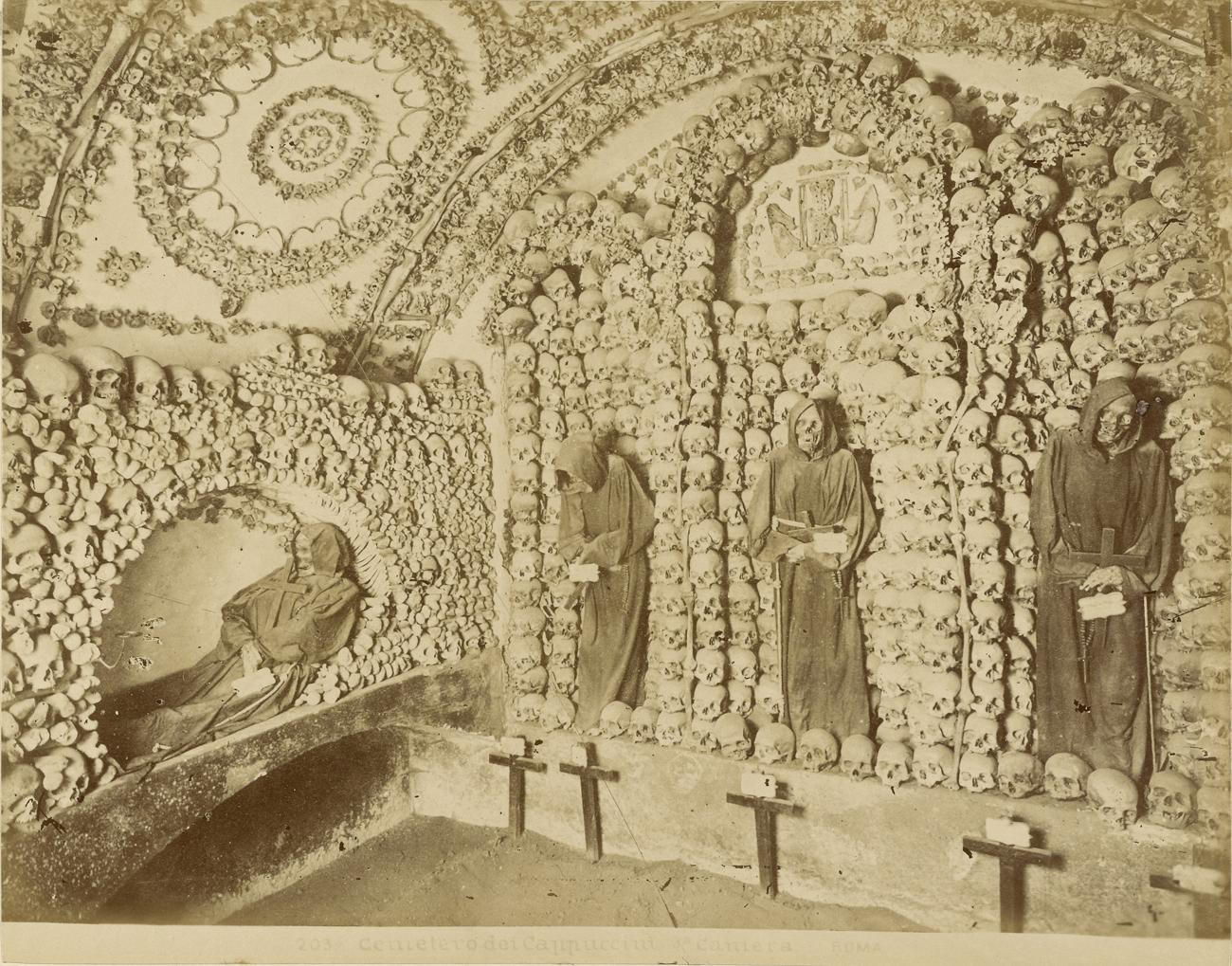 Cimitero dei Cappuccini, terza camera, Roma