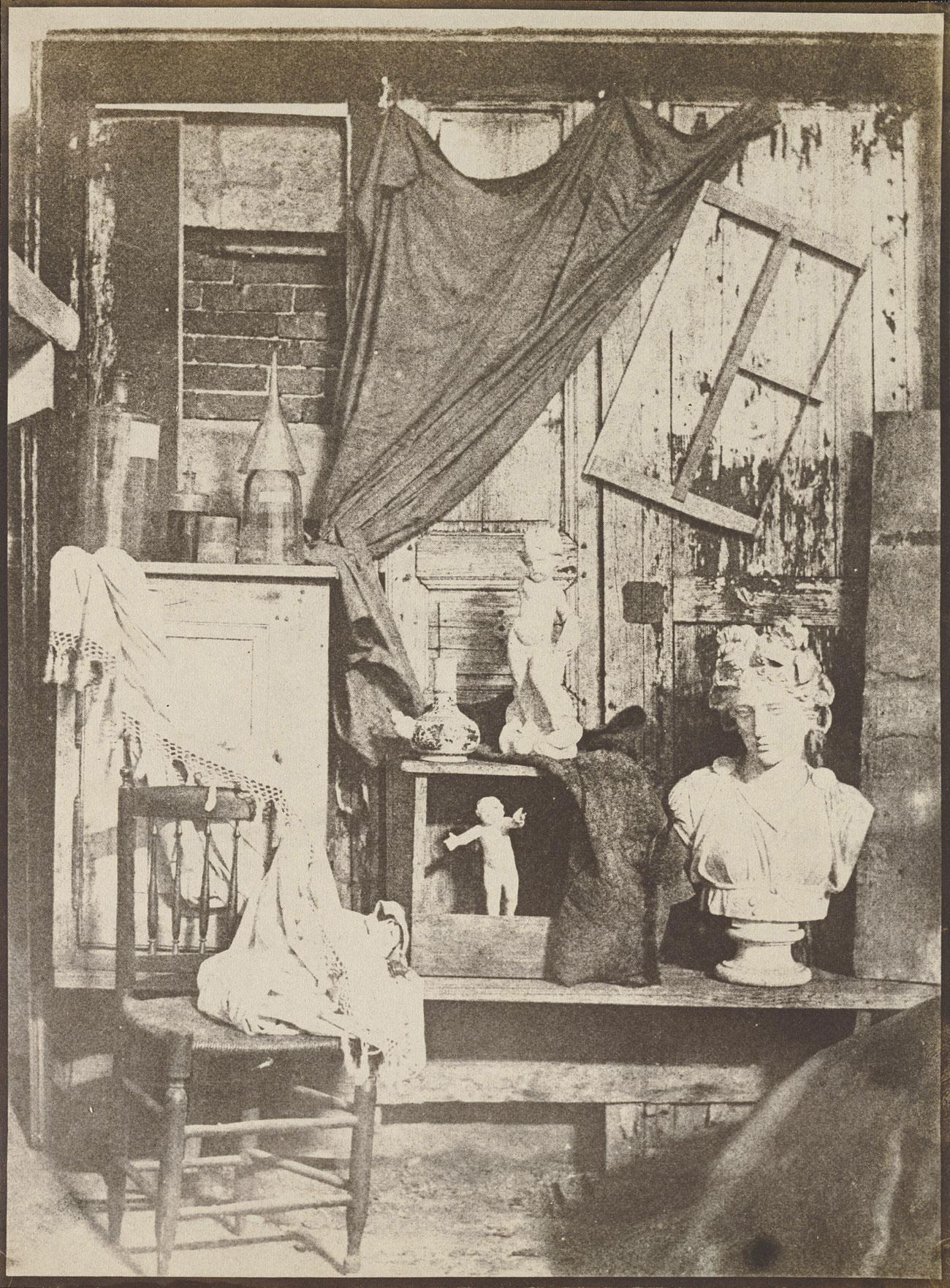 In the Studio of Bayard / Hippolyte Bayard