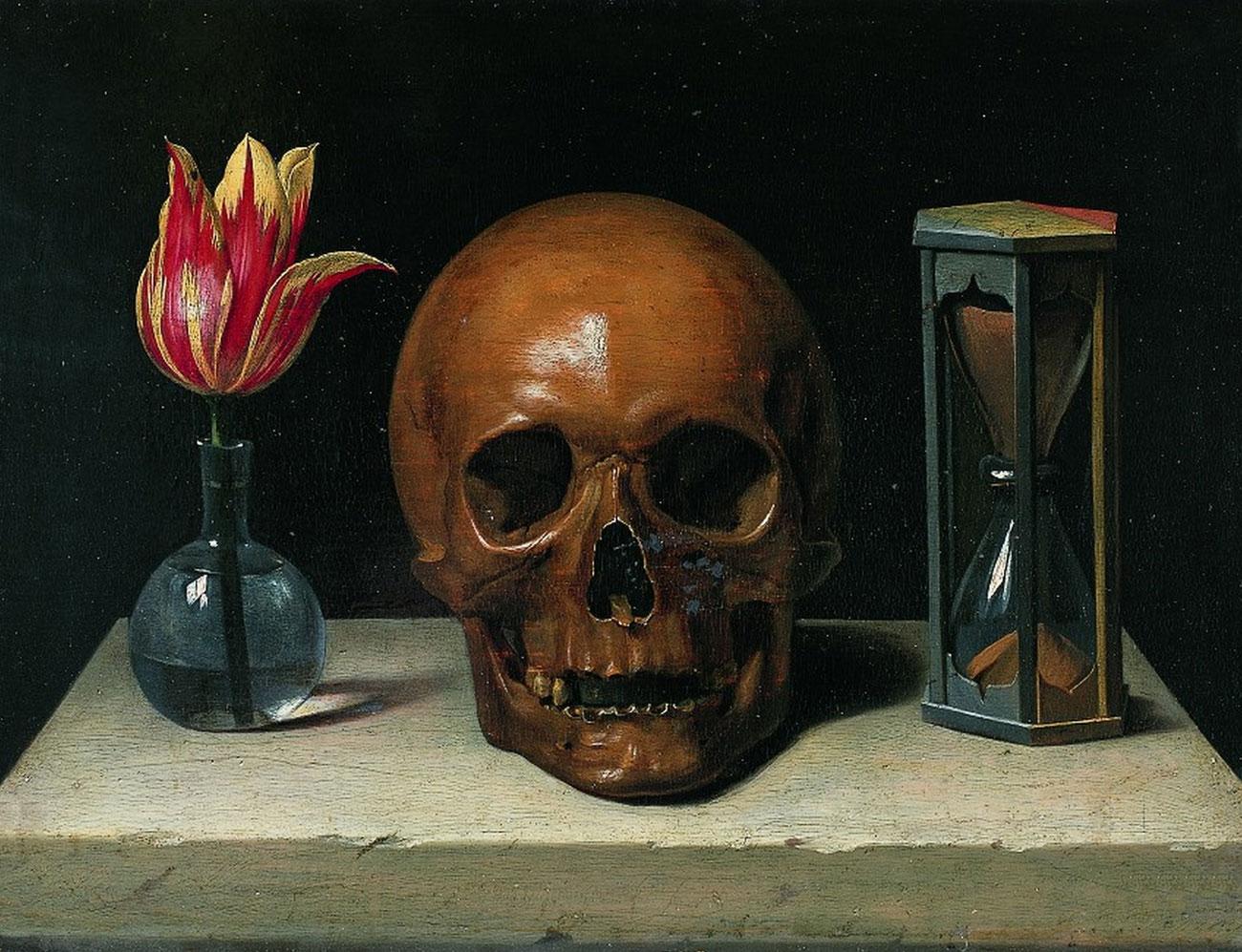 Sill life with a Skull / Philippe de Champaigne