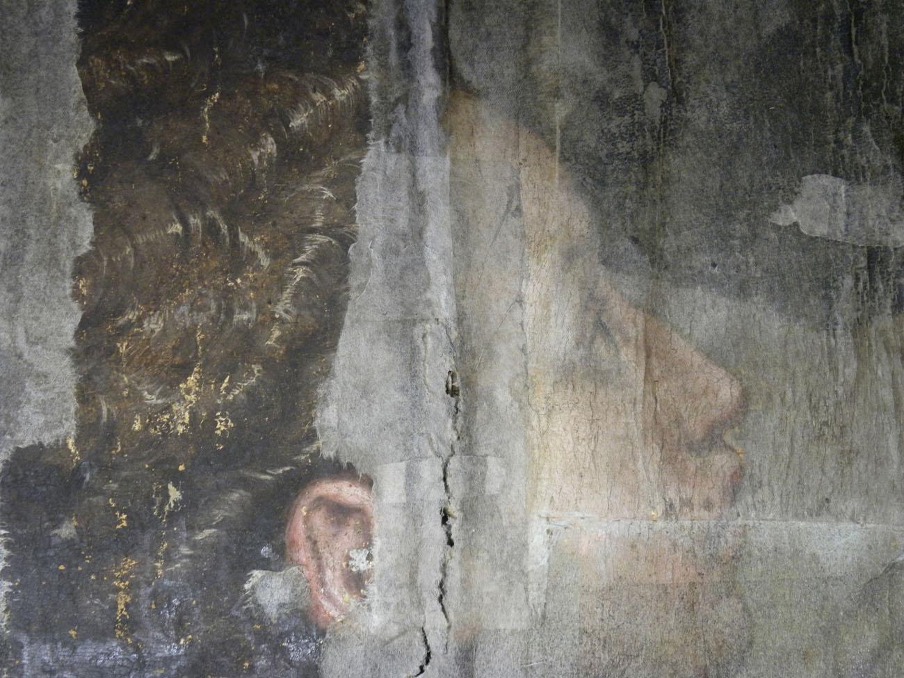 "Detail of Vasari's ""The Last Supper"""