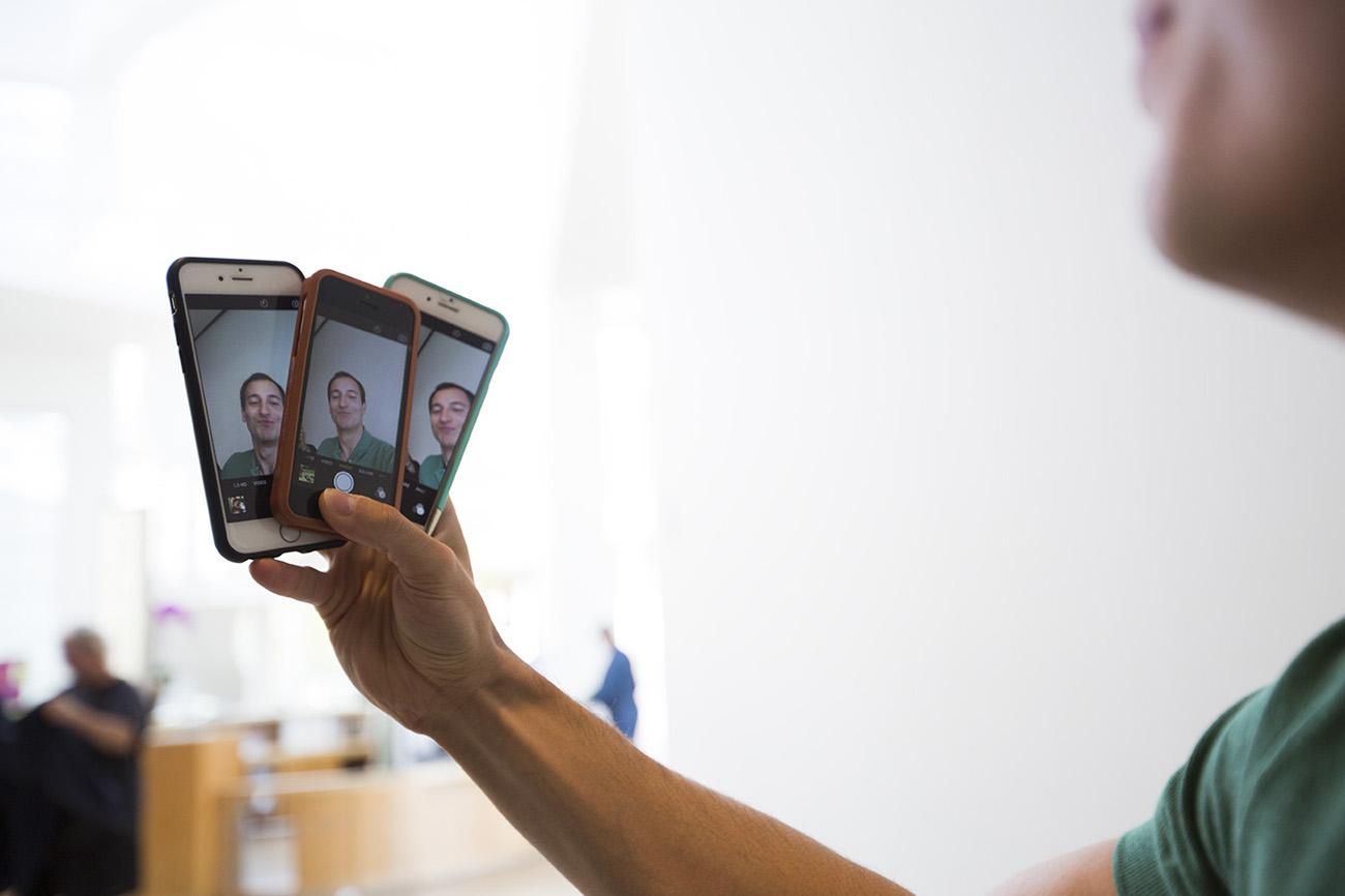 Three Selfies