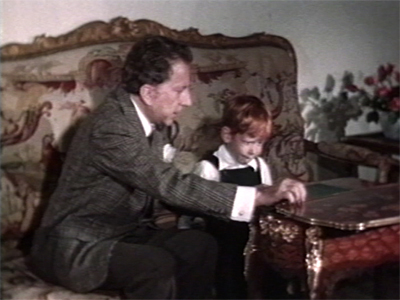 Still from At Home with Mr. J. Paul Getty