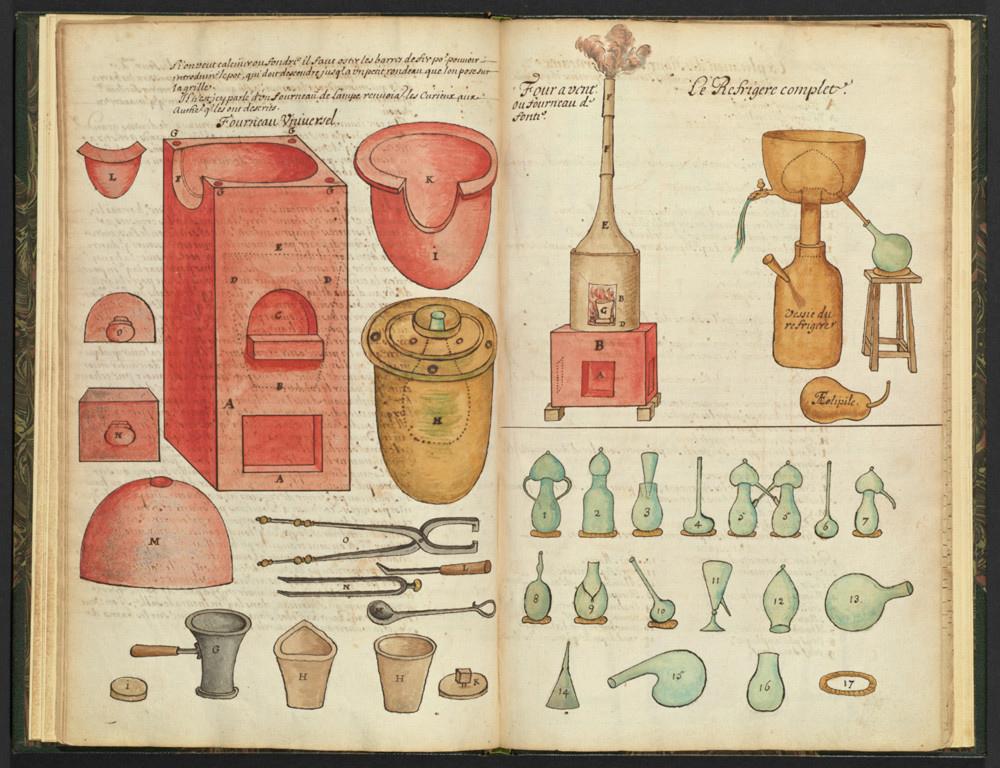 Alchemical equipment