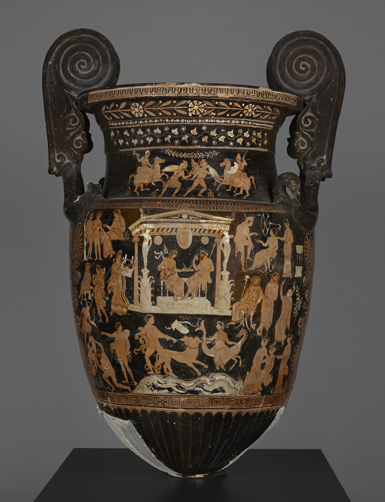 Ancient Vase Presents A Who S Who Of The Underworld The