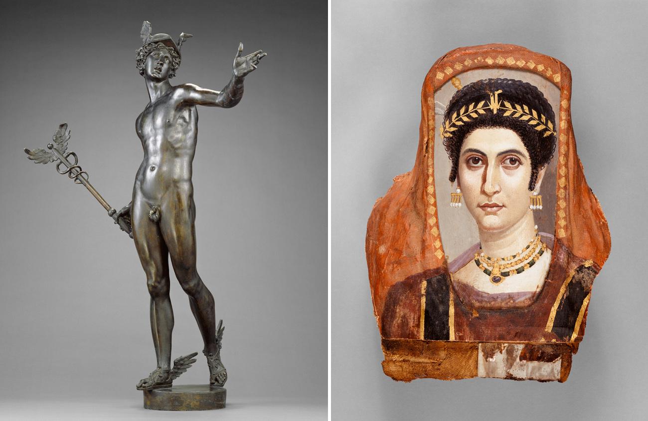 Mercury and Mummy Portrait