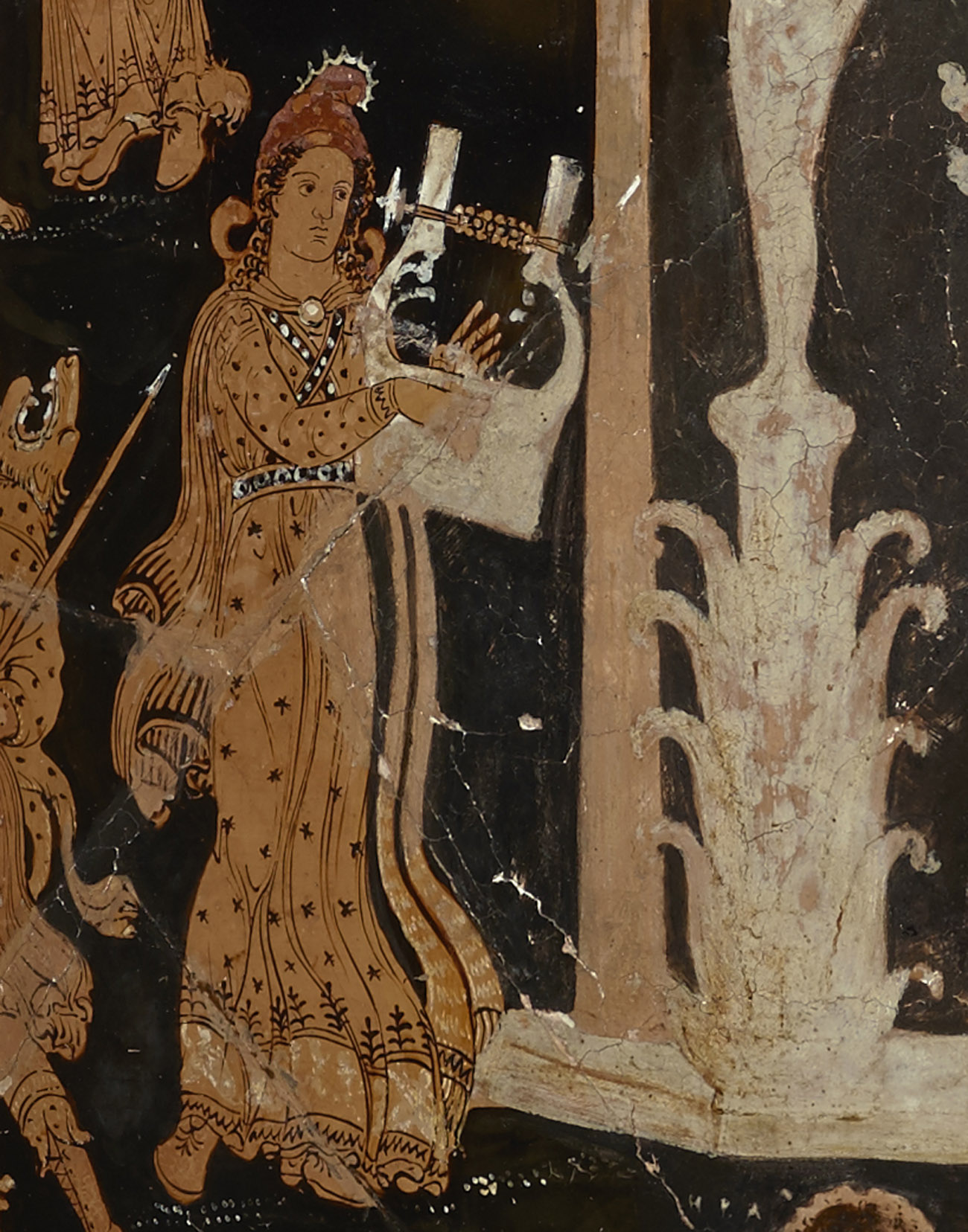 Orpheus and his lyre