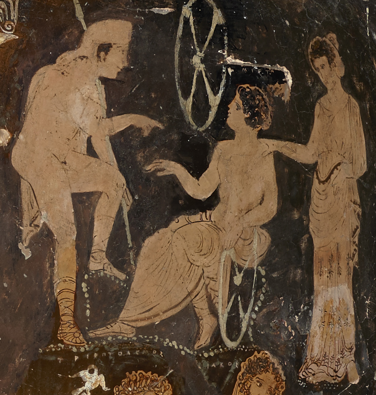 Pelops, Myrtilos, and Hippodamaia