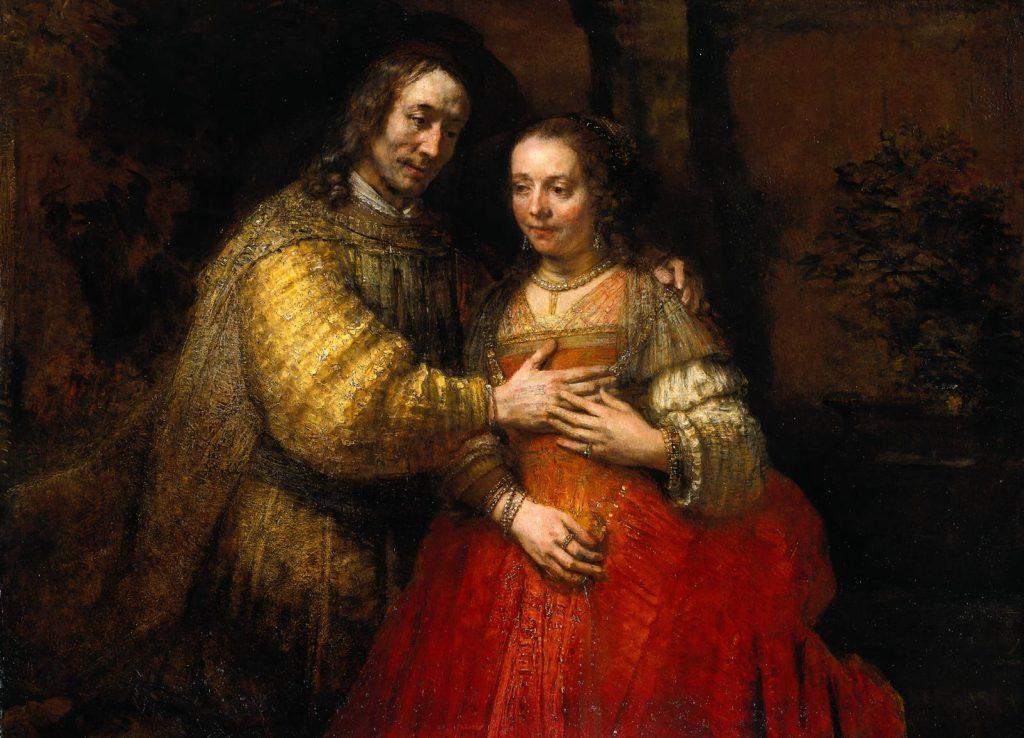 The Jewish Bride / Rembrandt Harmensz. van Rijn