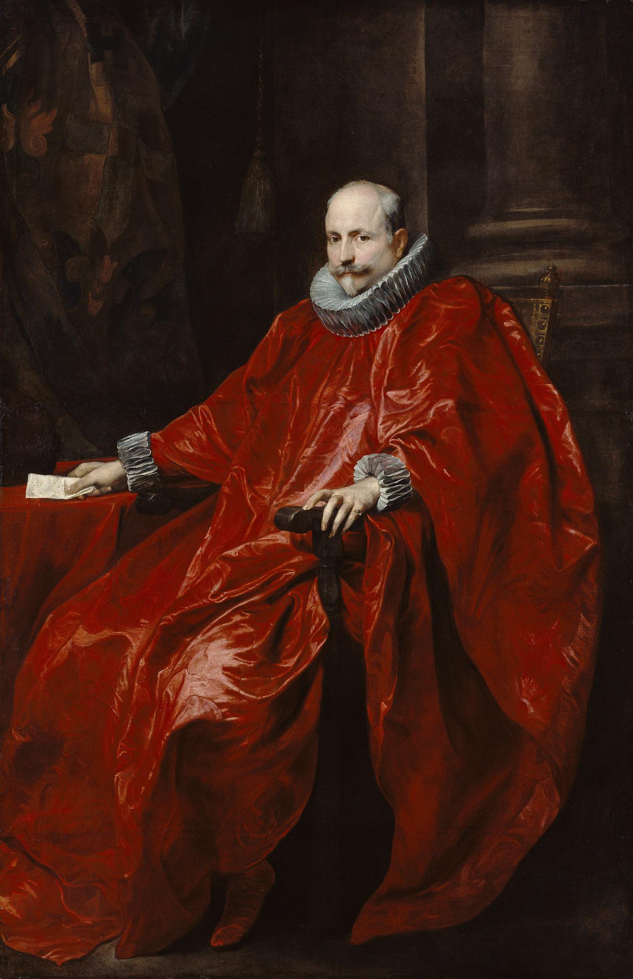 Portrait of Agostino Pallavicini / van Dyck
