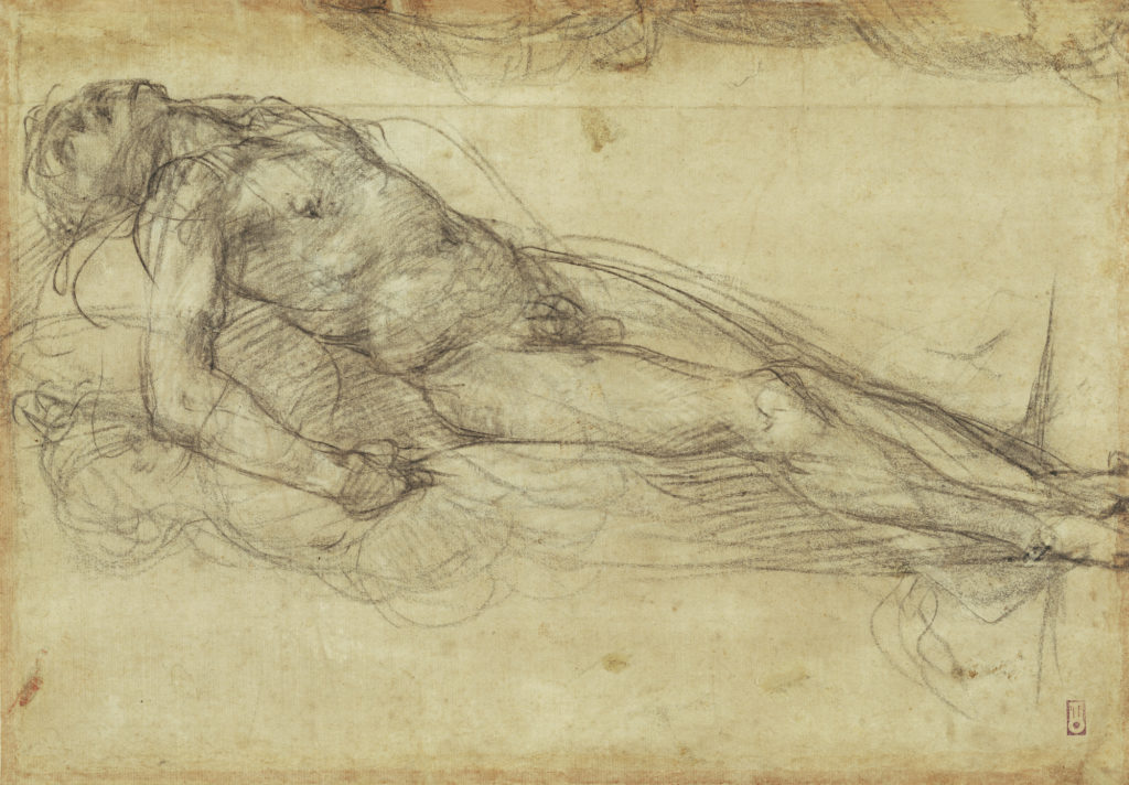Dead Christ (verso), about 1517–18, Pontormo (Jacopo Carucci). The J. Paul Getty Museum
