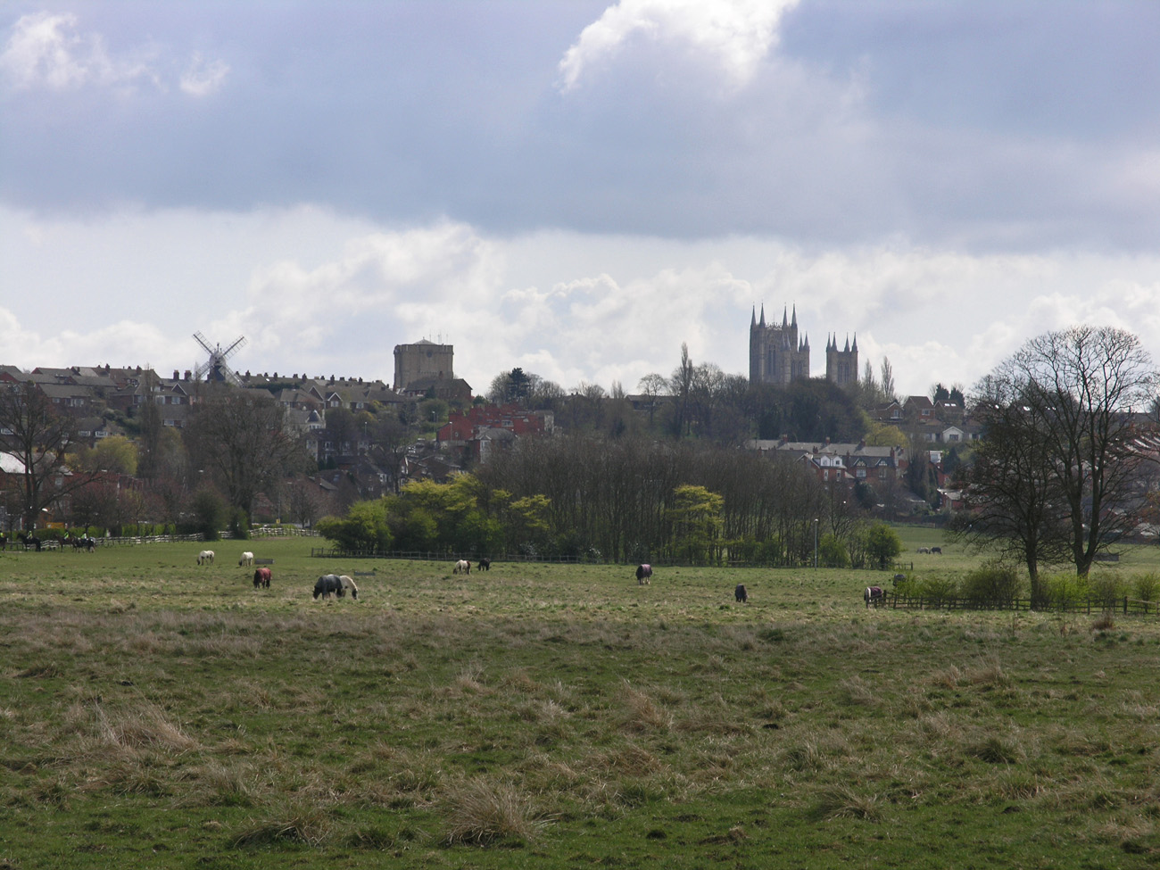 View to Lincoln hillside