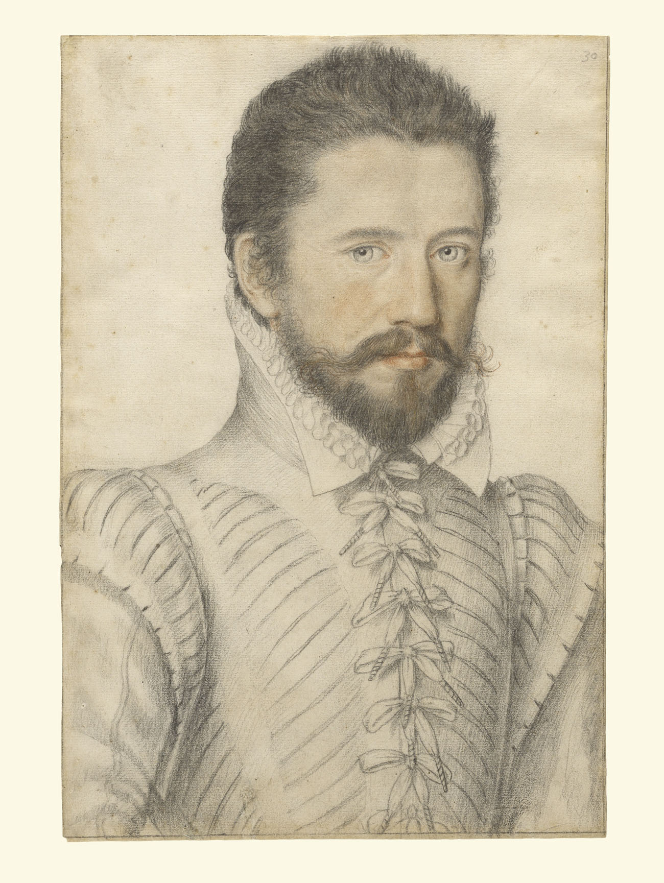 Portrait of a Bearded Man / L'Anonyme Lécurieux