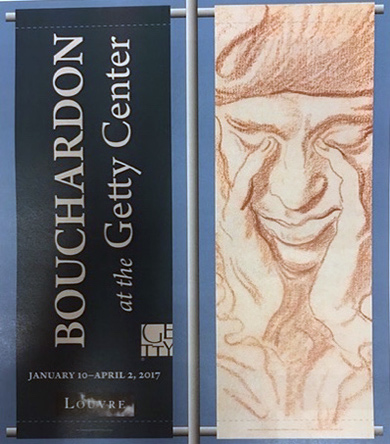 Bouchardon exhibition banner
