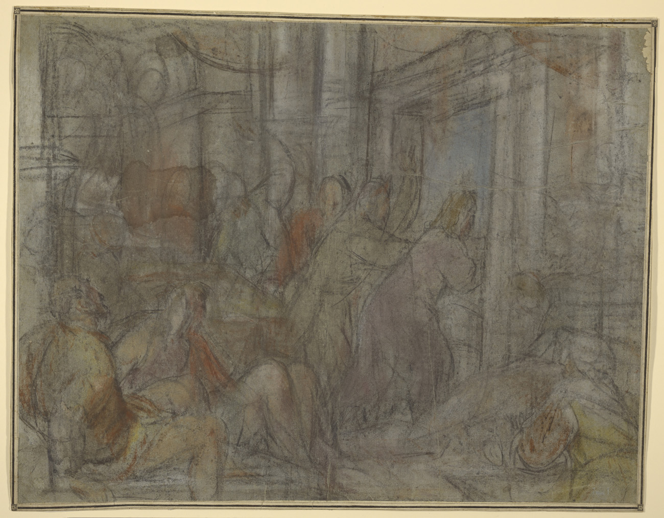 Christ Driving the Money Changers from the Temple / Jacopo Bassano
