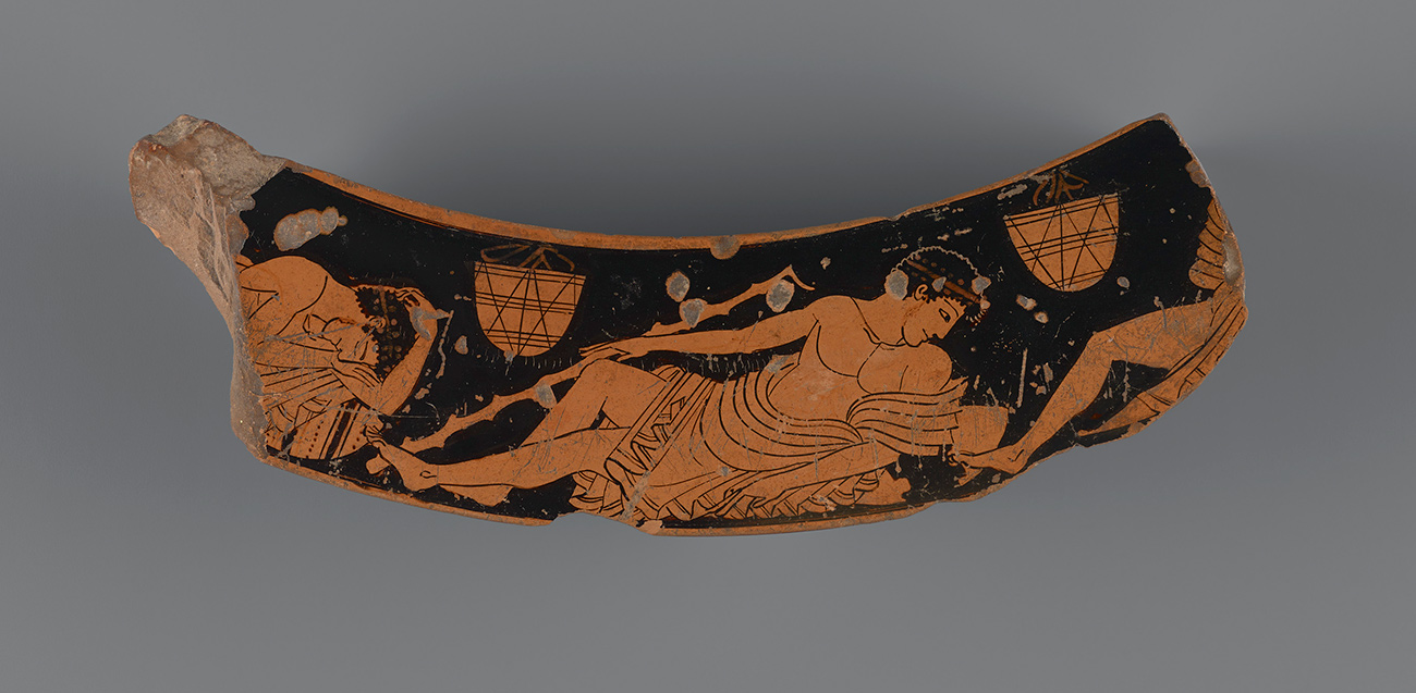 Fragment of an Attic red-figure dinos / Kleophrades Painter