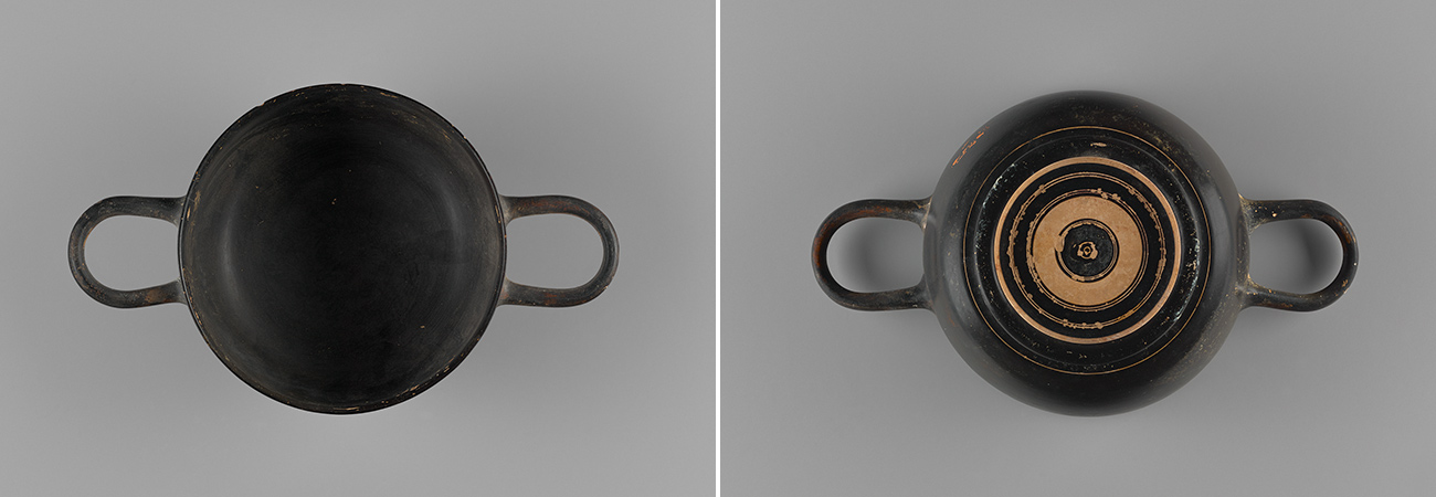 Athenian black-gloss drinking cup