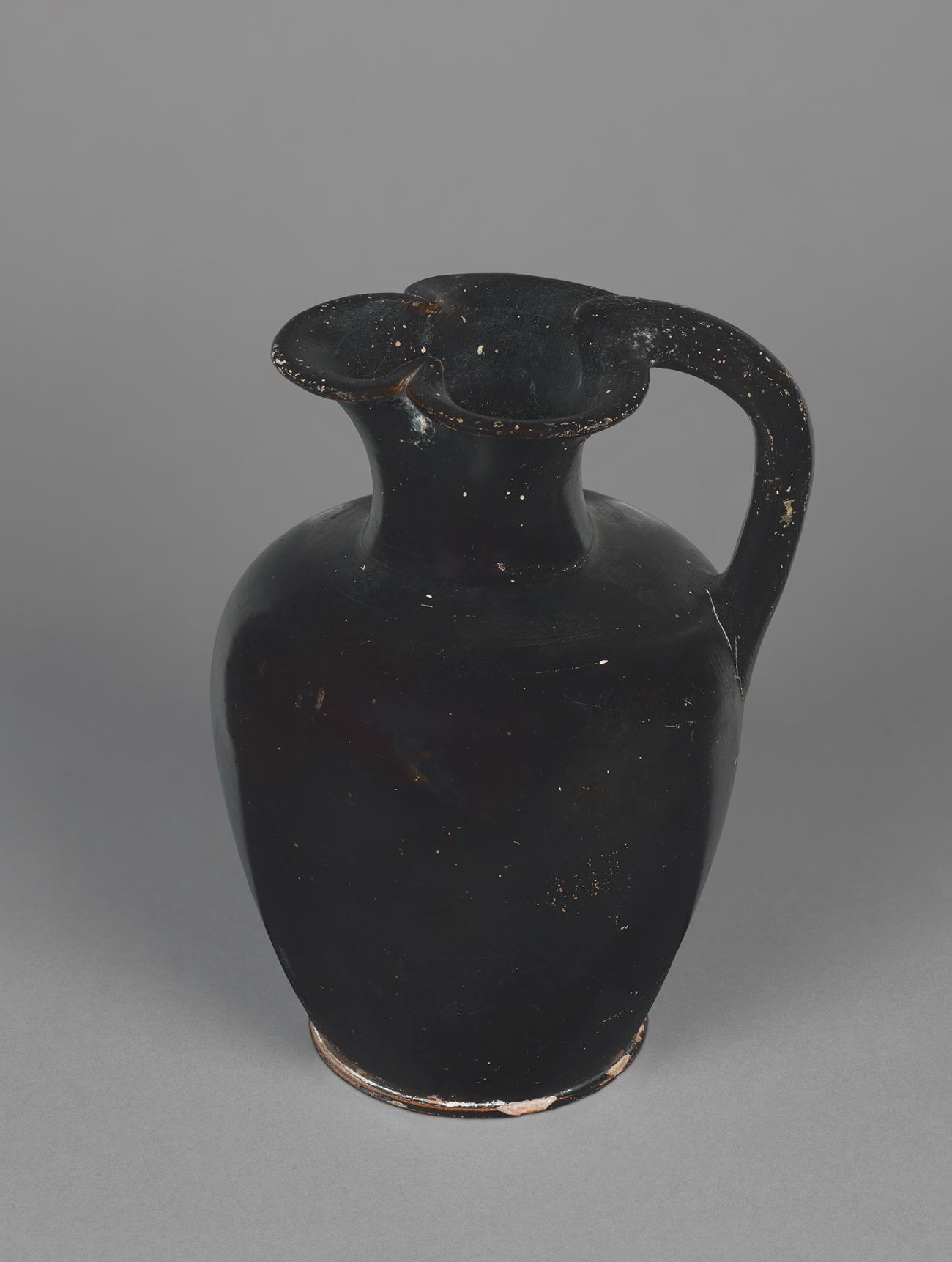 Athenian black-gloss oinochoe
