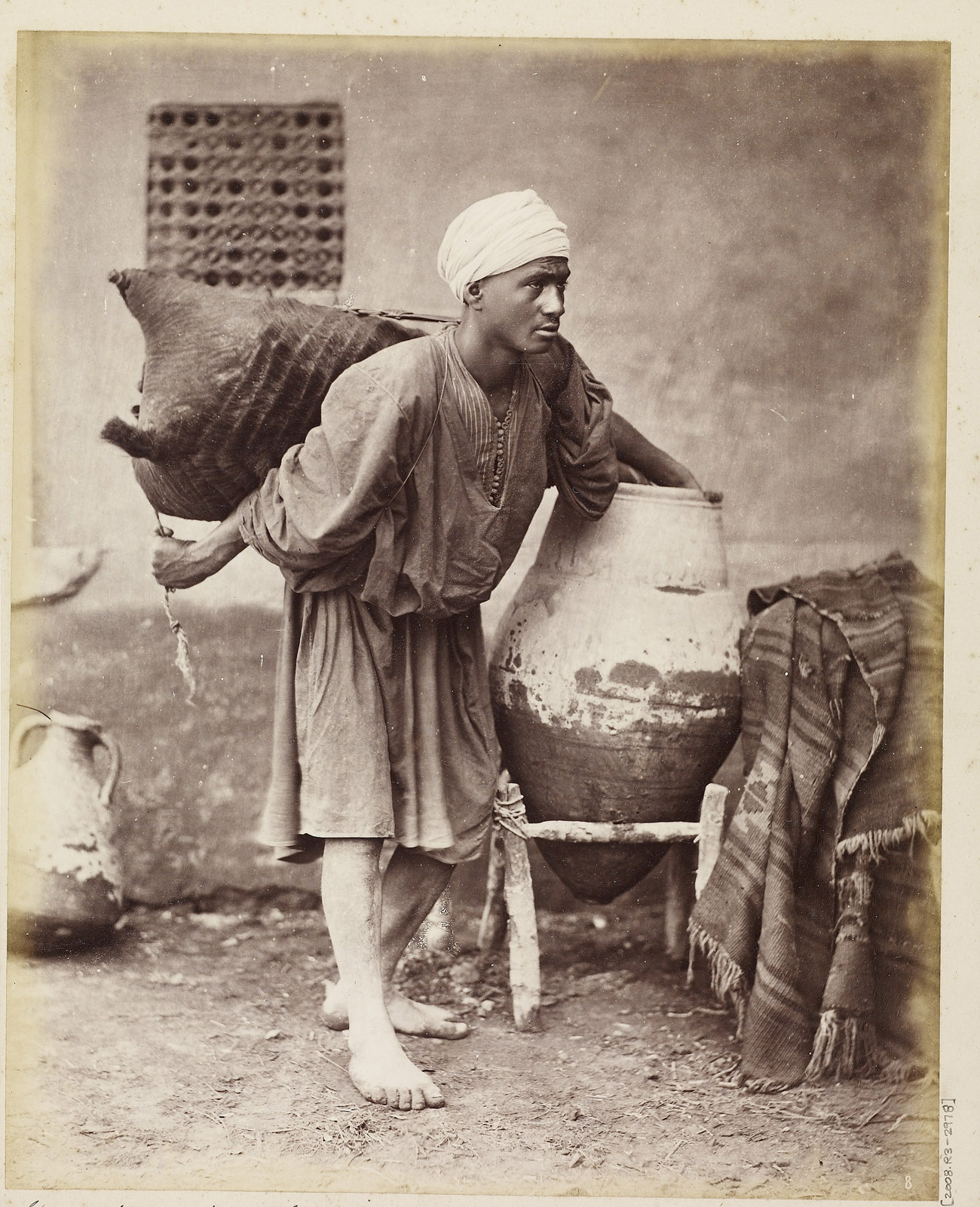 Sakkah (water carrier) / Otto Schoefft