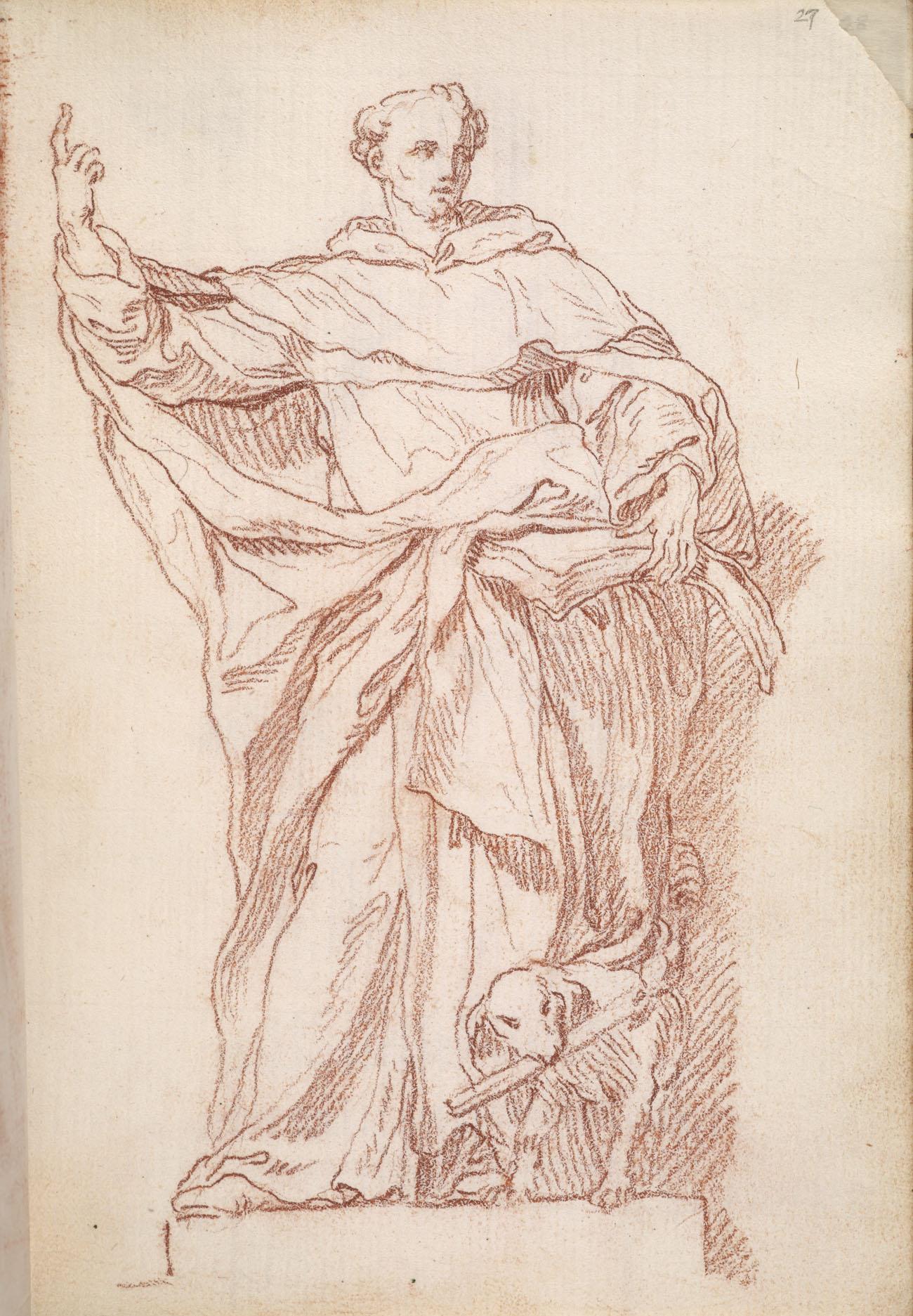Saint Dominic / Bouchardon