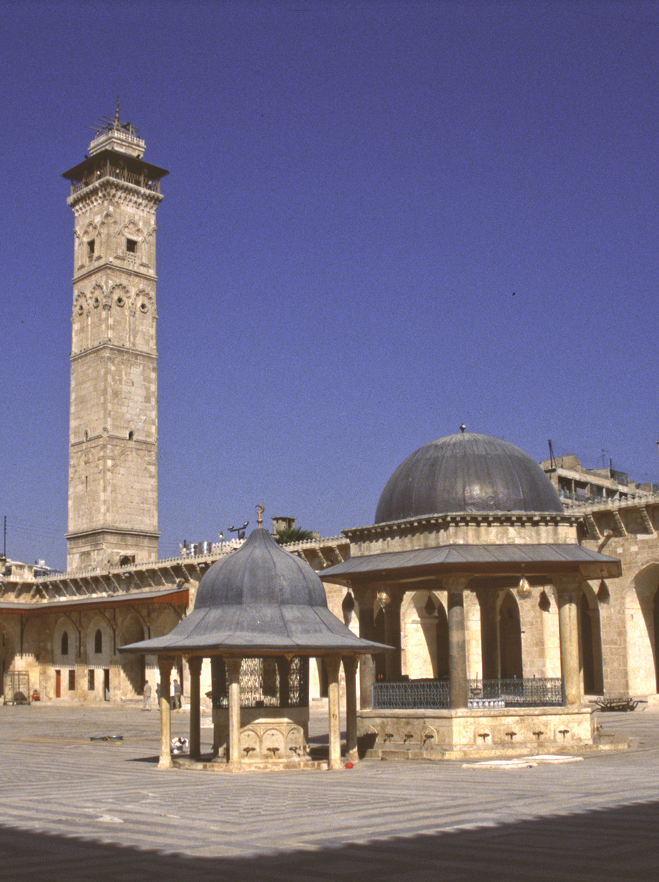 Courtyard of the Great Mosque, Aleppo