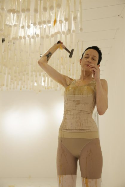 """Crossing the Line: The """"Disgusting"""" Female Body as Artistic Medium of Resistance"""