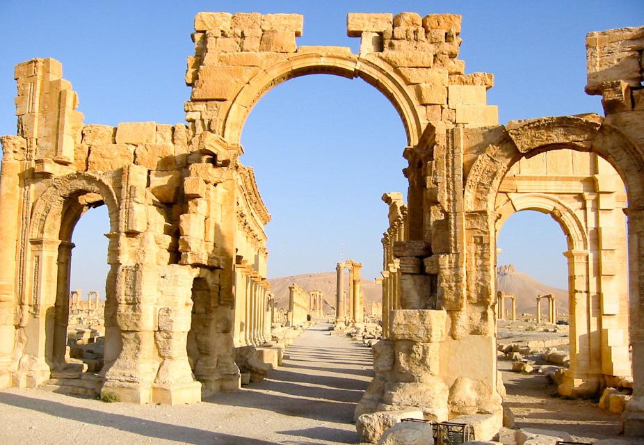 Monumental Arch at Palmyra