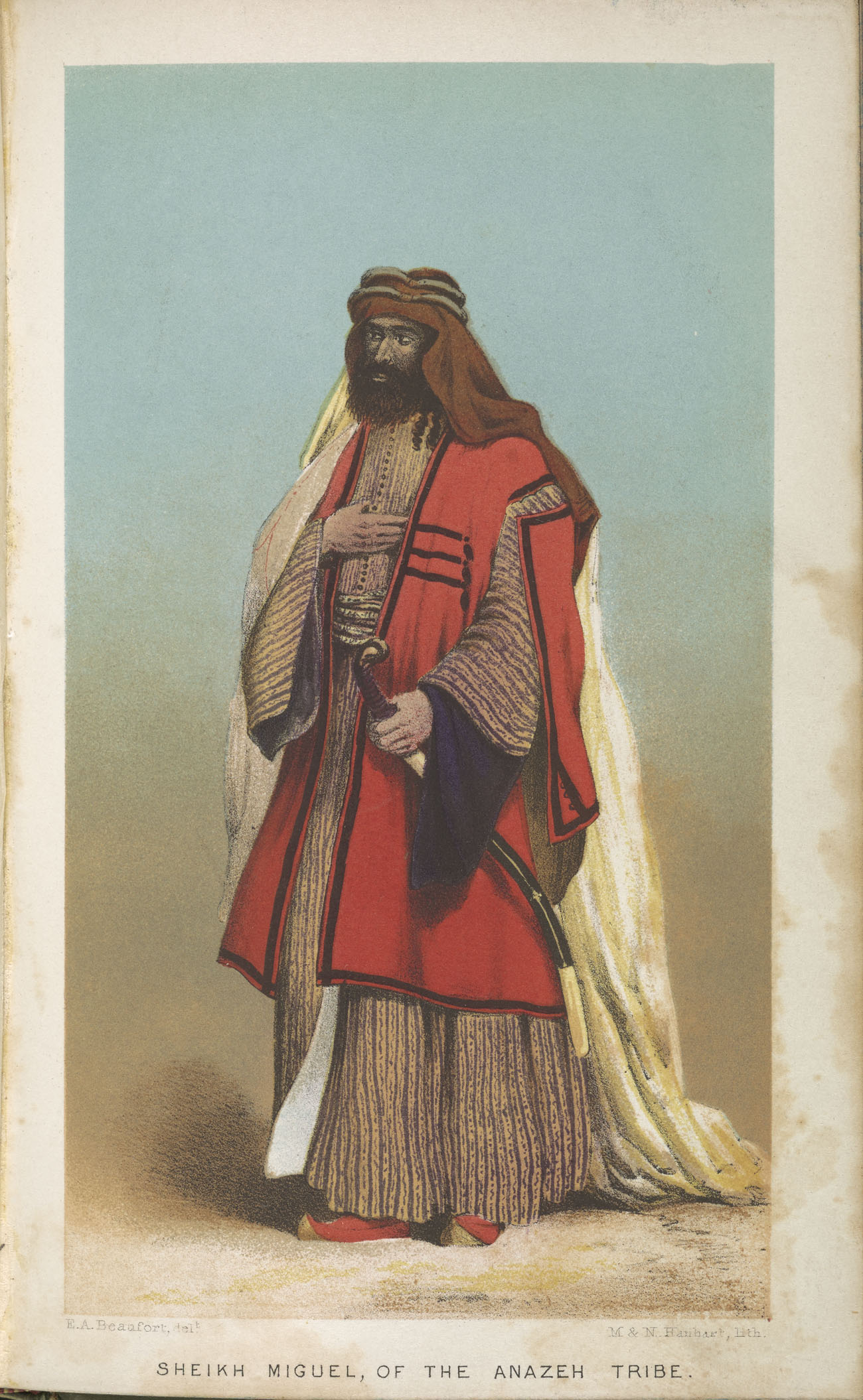 Sheik Miguel, of the Anazeh Tribe