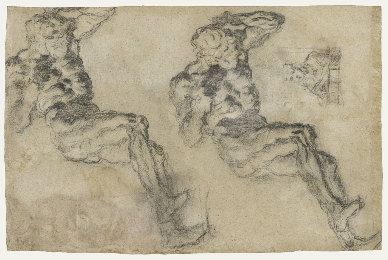 Studies of a Statuette of Atlas / Tintoretto