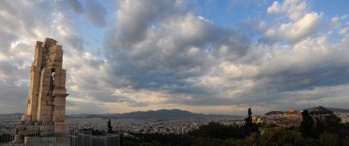 Athens through a Panoramic Lens