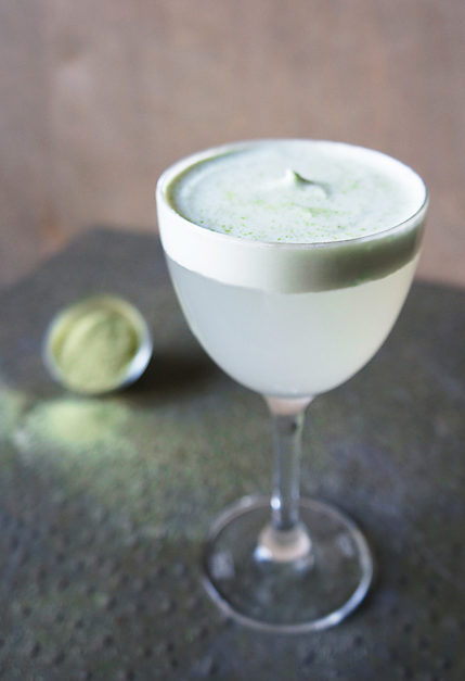 A Green Tea Cocktail Inspired by Contemporary Art at the Getty