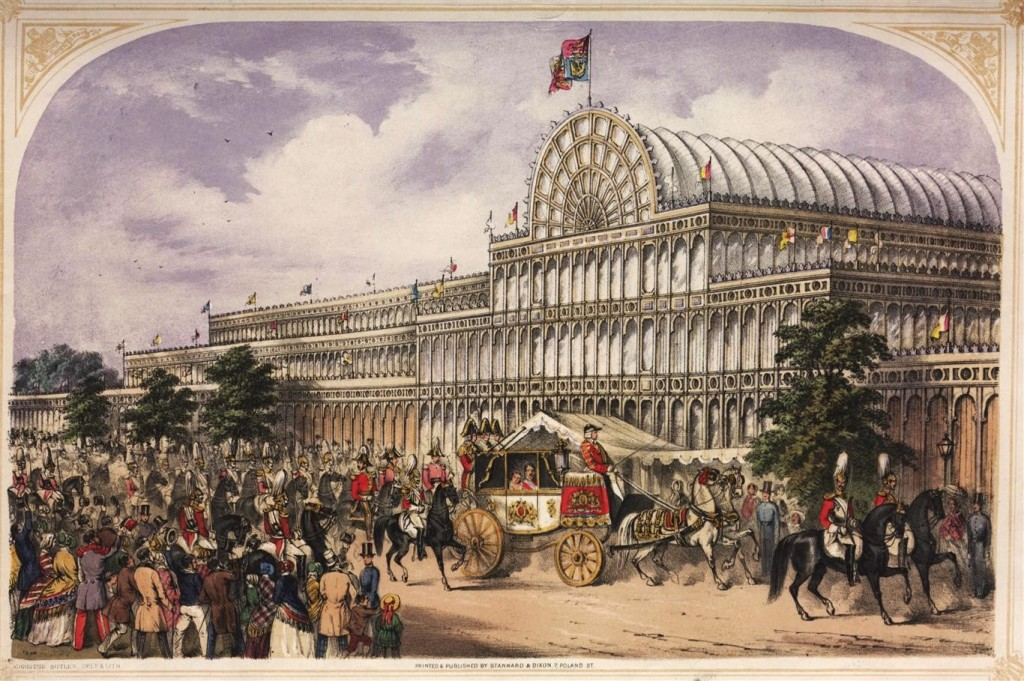 Opening of the Great Exhibition, London, May 1, 1851. 1851. © The Victoria and Albert Museum
