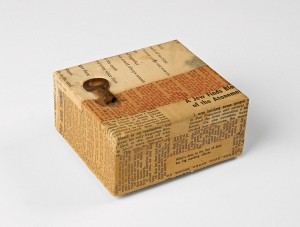 Business-card box for Charles Brittin