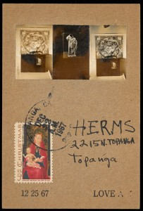 Card to George Herms