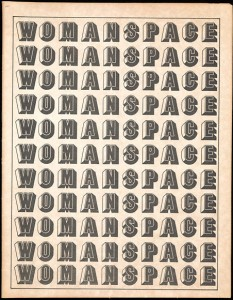 Womanspace journal