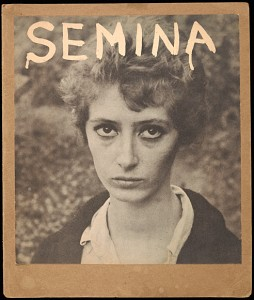 Semina cover with Wife (photograph of Shirley Berman)