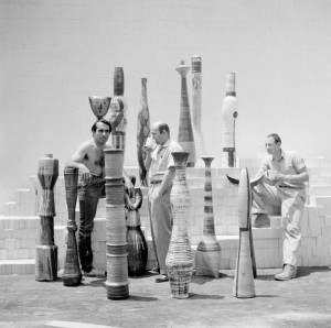 Peter Voulkos, John Mason, and Paul Soldner