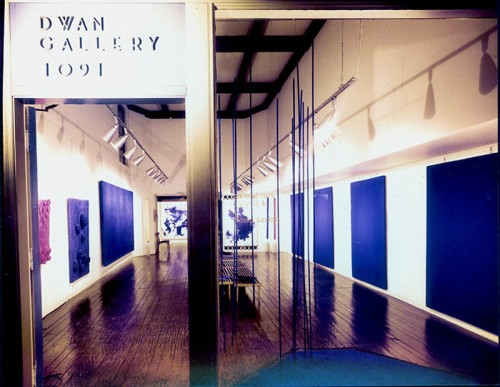 Yves Klein exhibition at Dwan Gallery