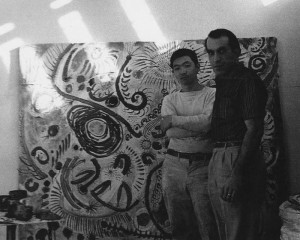 Henry Takemoto and Peter Voulkos